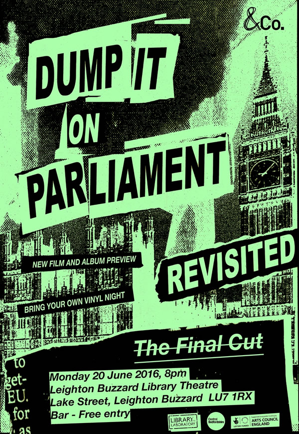 Dumping It On Parliament - The Final Cut - Wrap Party